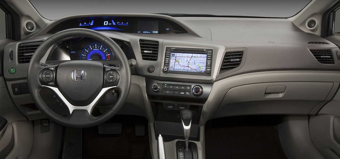 civic sedan 2012 interior