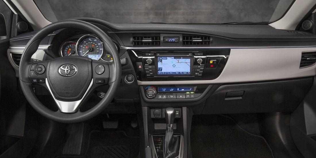 corolla 2014 interior
