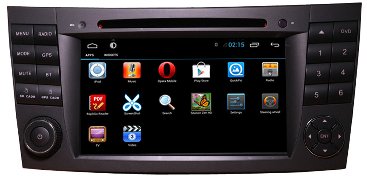 navigatie dedicata android 4 W211
