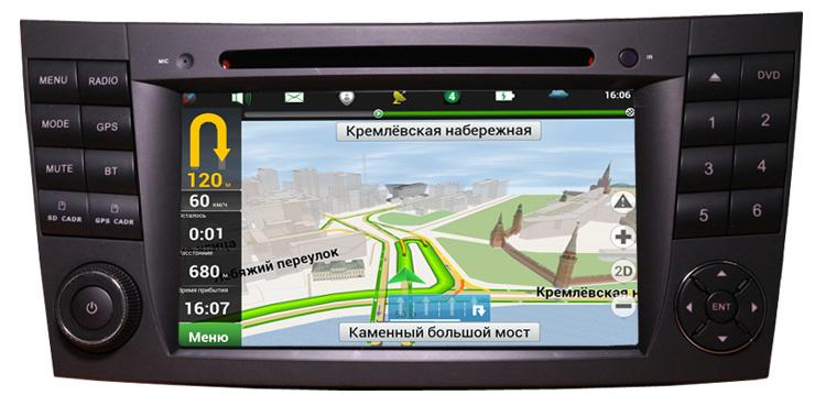 sistem de navigatie w211