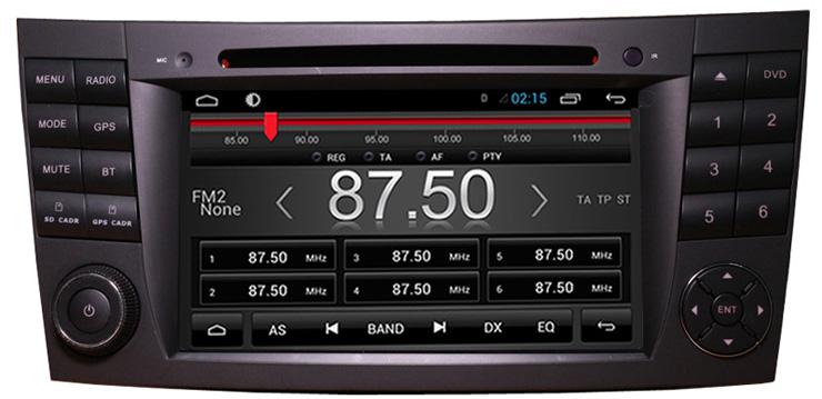 radio tuner pentru mercedes e-klass