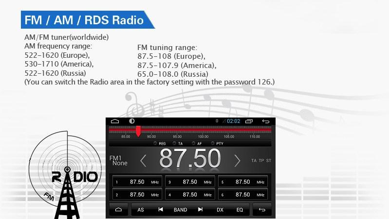 receptie radio fm pentru navigatie cu android