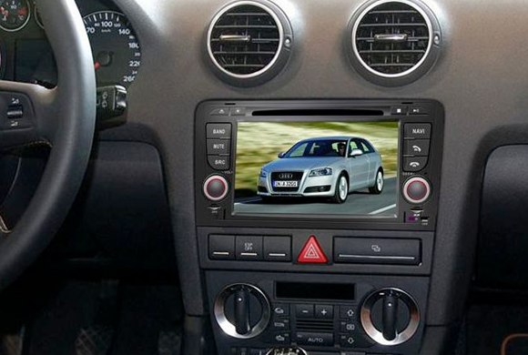 dvd auto cu navigatie si internet AUDI A3