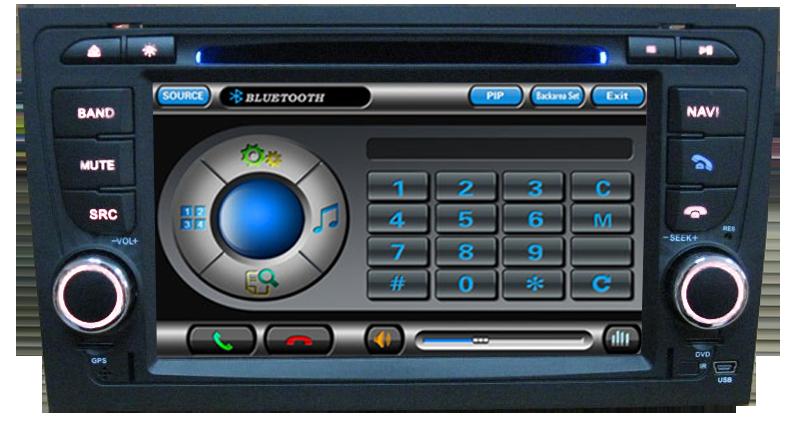 bluetooth navigatie gps AUDI A4