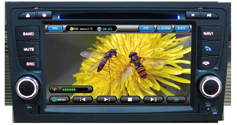 ecran tactil 7 dvd auto AUDI A4