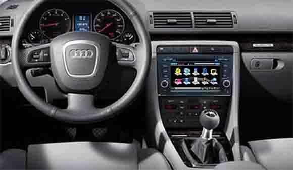 dvd auto cu navigatie si internet AUDI A4