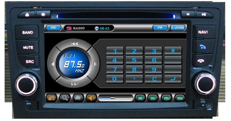 radio tuner dvd auto AUDI A4