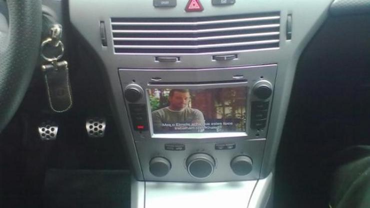 dvd auto cu navigatie si internet opel