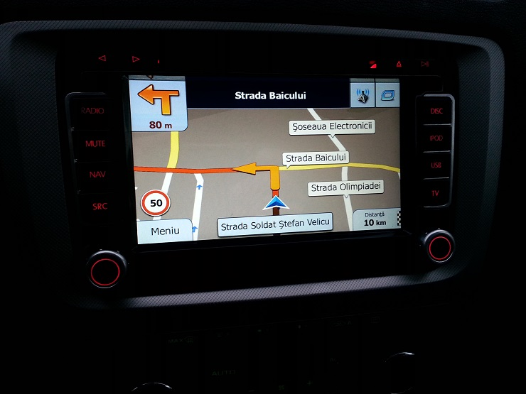 n6 vw navigatie