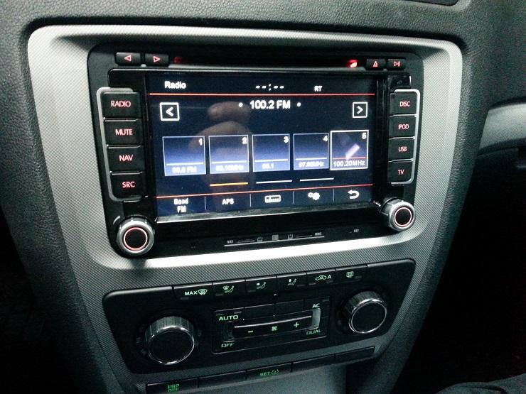 n6 vw radio
