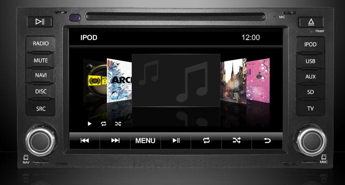 conectivitate ipod cu navigatie auto vw touareg t5