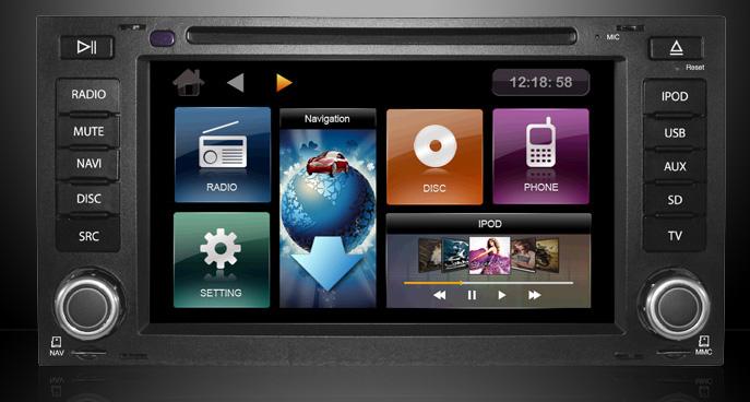 ecran tactil dvd auto dynavin vw touareg t5