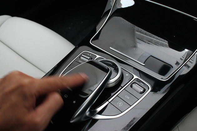 mercedes controler touchpad ntg5