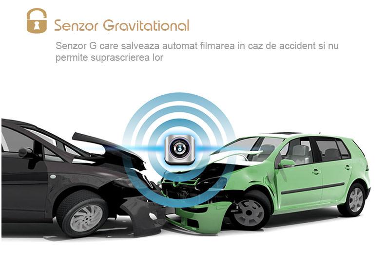 functie de inegistrare impact pentru dvr auto