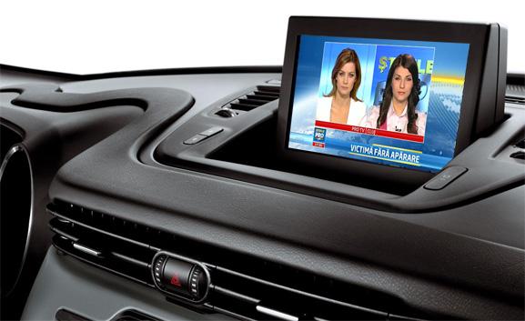 tuner tv auto hd digital pentru alfa romeo giulietta