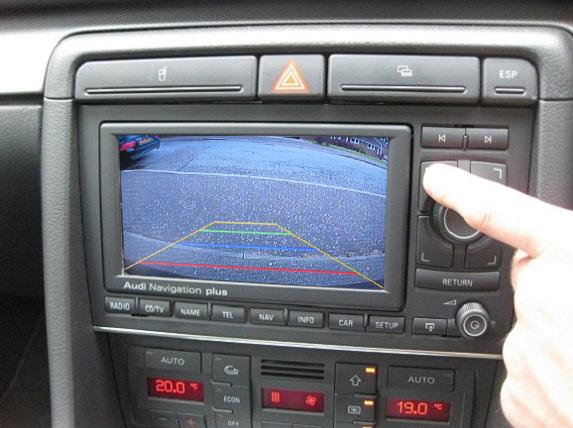 camera video auto marsarier audi si seat rnse