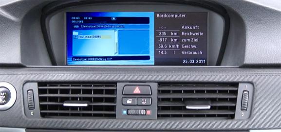 dvd player cu usb si sd pentru bmw ccc fibra optica