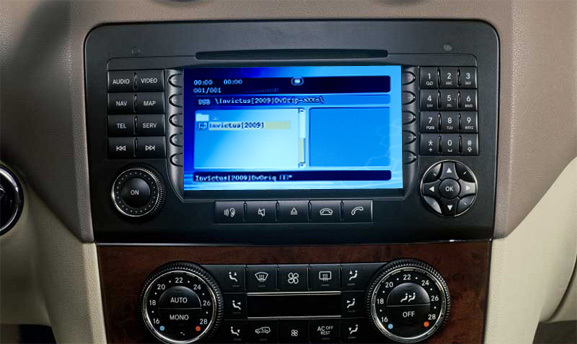 dvd player cu usb si sd mercedes ntg 2