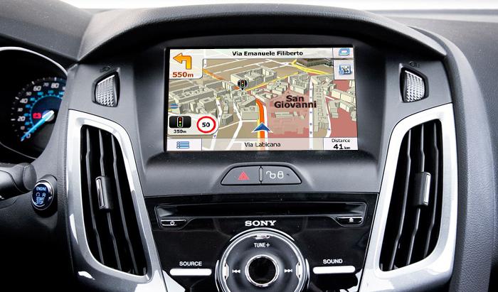 navigatie prin gps pentru ford focus 2012