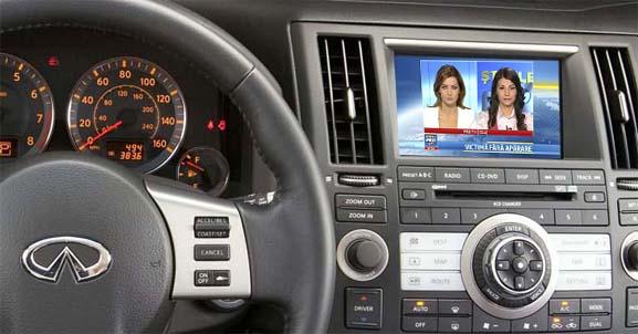 tunert tv auto digital hd pentru infinity lexus toyota cu gvif