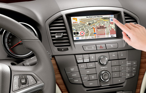 navigatie auto prin gps pentru opel dvd si cd