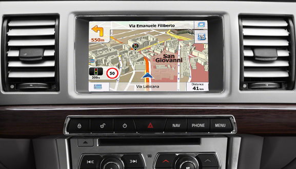 navigatie auto cu gps pentru jaguar lexus opel si toyota