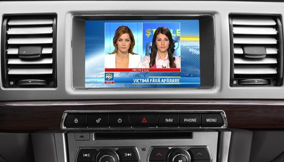 tuner tv auto digital hd pentru jaguar opel lexus toyota