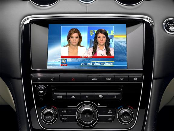 tuner tvt auto digital hd pentru jaguar si range rover