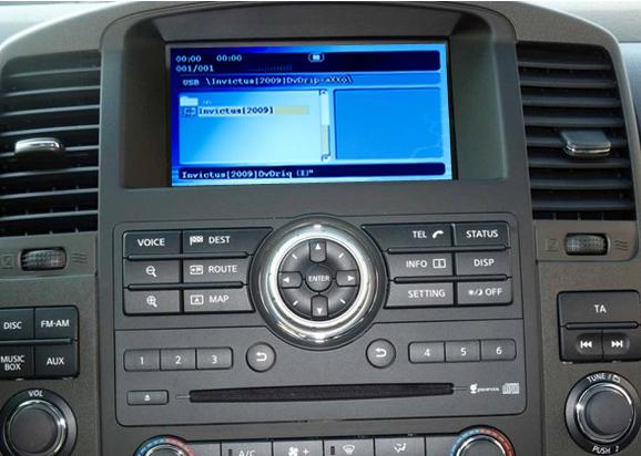 dvd player auto cu usb si sd pentru nissan