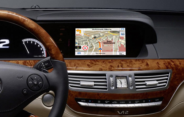 navigatie auto cu gps pentru mercedes clasa s si cl