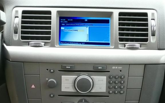 dvd player auto cu usb si sd pentru opel dvd 90 si cd 70