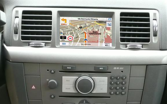 navigatie auto prin gps pentru opel dvd 90 si cd 70