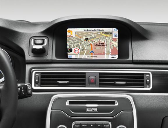 """navigatie auto cu gps volvo rti sensus 7"""""""