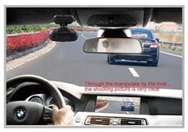 Inregistreaza automat orice accident si orice vehicul ce apare in fata