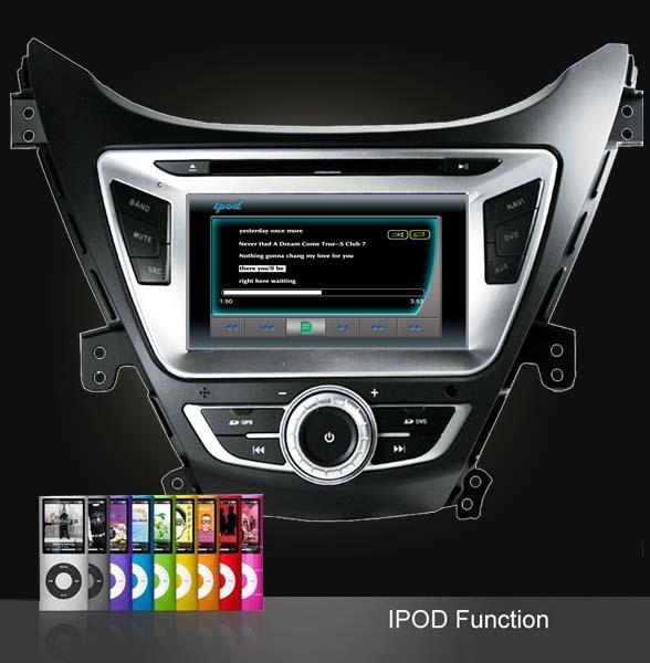 conexiune ipod iphone dvd auto hyundai elantra