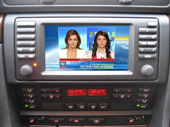 tuner tv auto digital hd pentru bmw mk4