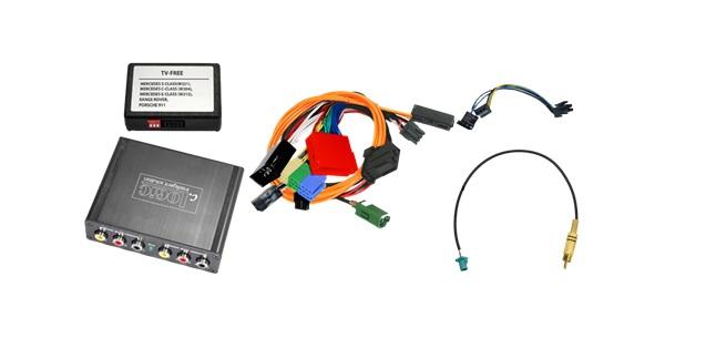 interfata audio video porsche pcm 2.1