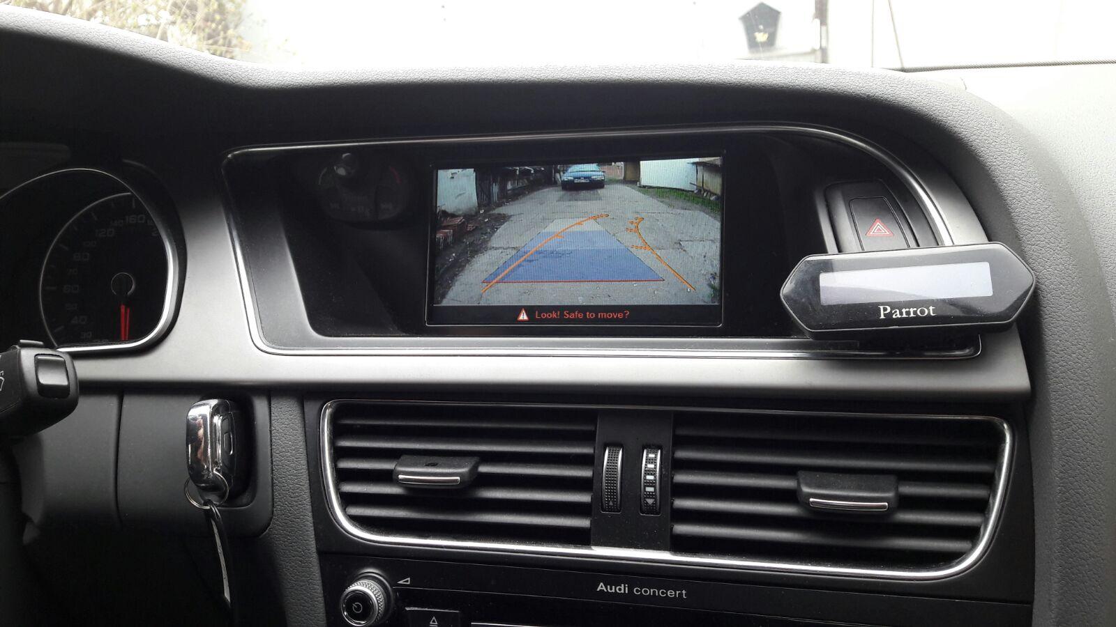camera video auto pentru mersul cu spatele la parcare audi mmi
