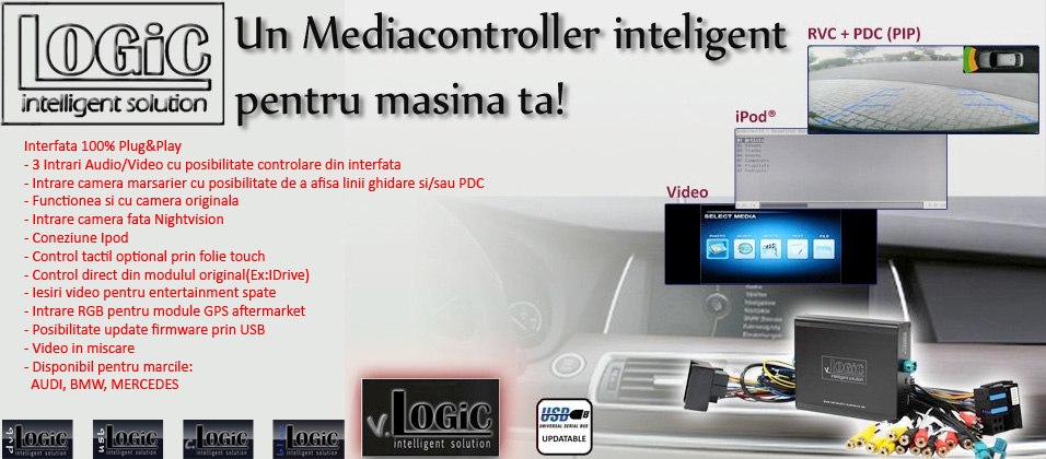 interfata multimedia audio video inteligenta v.Logic