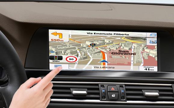 navigatie prin gps pentru bmw cu sistem ccc