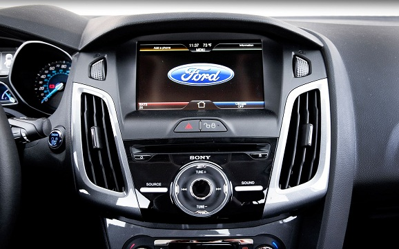 sistem multimedia ford focus 2012