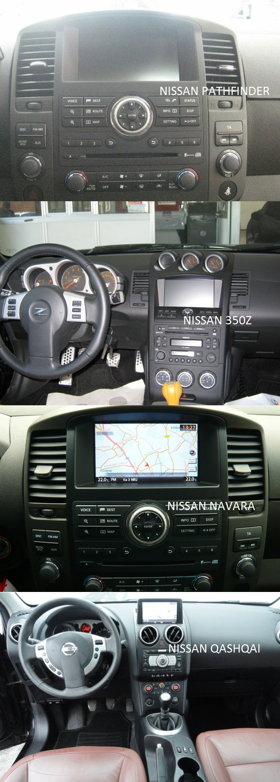 comaptibilitate interfata video nissan rgb