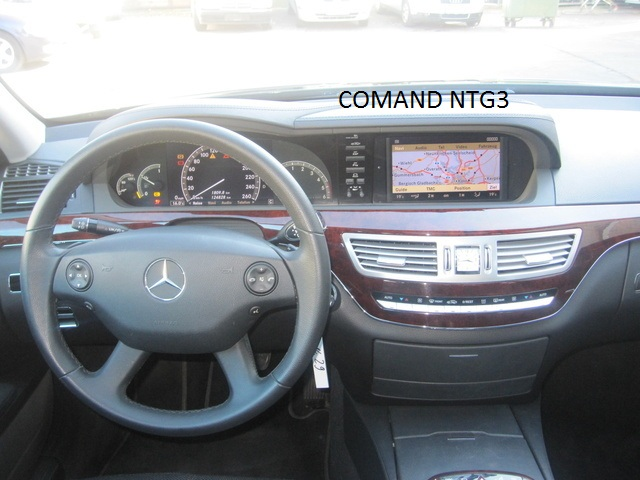 mercedes comand ntg3