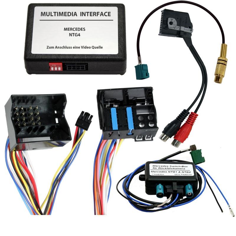 interfata video audio mercedes ntg 4
