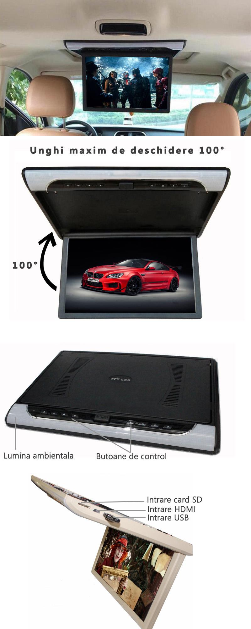 monitor auto plafon 18.5 inch