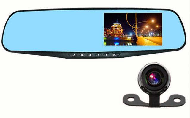 monitor oglinda/A20E/camera dvr auto cu oglinda full hd