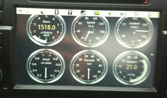 navigatie auto touchscreen e46 poza android 6