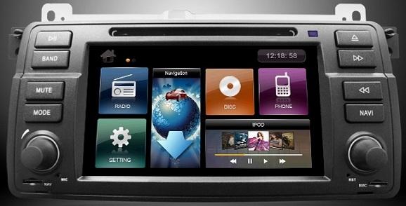 navigatie auto dedicata seria 3 e46 si android