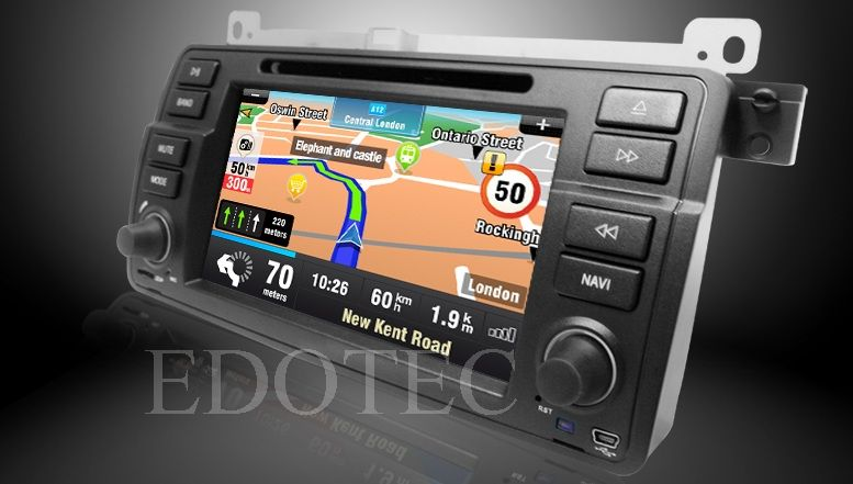 navigatie cu gps bmw e46 android
