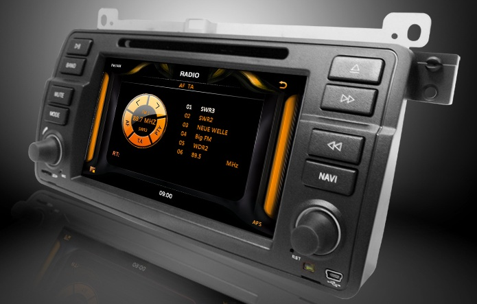 radio tuner navigatie bmw e46 android